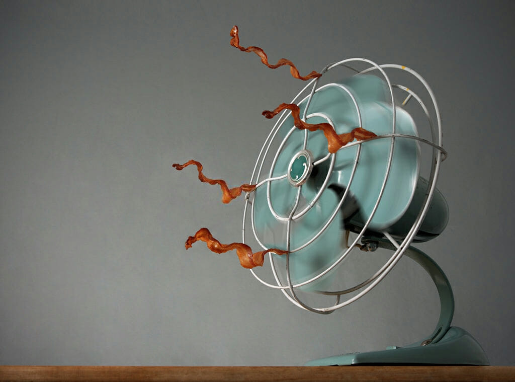 Dry Shoes Fast using a fan